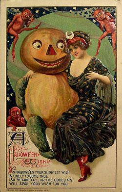 """О """"веселом"""" празднике тыквы Halloween"""