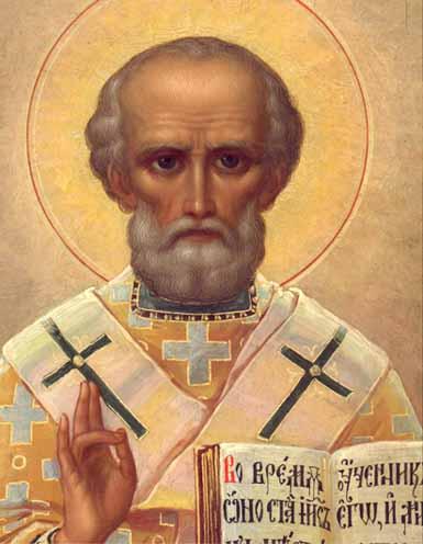 Святитель Николай, архиепископ Мир Ликийских, чудотворец