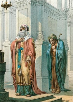 """Закон Божий: """"Притча о мытаре и фарисее"""""""