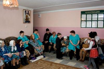 «Октябрьский дом» -  интернат для престарелых и инвалидов c. Лада
