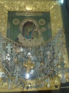 В Кемле встретили  чудотворную  икону Песчанской  Божией Матери