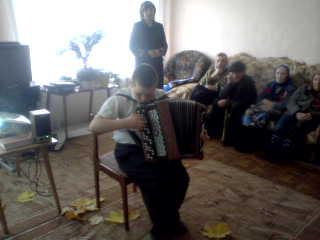Октябрьский дом – интернат для престарелых инвалидов в с. Лада