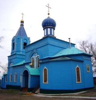 Свято-Троицкий храм села Ташла.