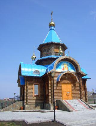 Храм в честь чудотворной иконы Божией Матери «Избавительница от бед».