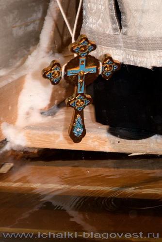 18 января –  Богоявление - Крестный ход от храма к реке Алатырь. Освящение воды в проруби. Купание