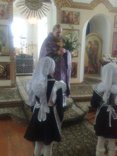 22 марта на праздник Святых 40 мучеников Севастийских – День Ангела у нашего настоятеля о. Иоанна