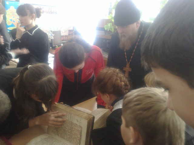Выставка православной литературы «Духовное наследие»