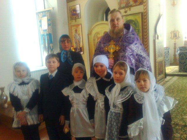22 марта на праздник Святых 40 мучеников Севастийских – День Ангела у нашего настоятеля о. Иоанна.