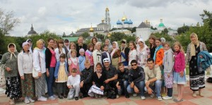 Поездка в Сергиев Посад
