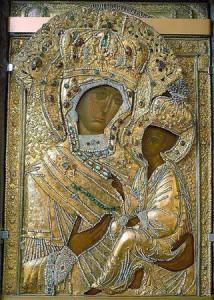 Молебен с акафистом Божией Матери пред чтимой иконой «Тихвинской»