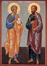 ПРОПОВЕДЬ В ПРАЗДНИК СВЯТЫХ АПОСТОЛОВ ПЕТРА И ПАВЛА