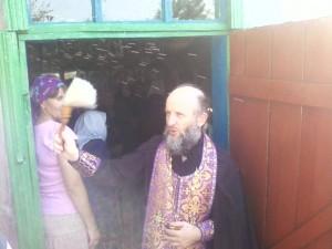 молебен в Пеле в часовне святого пророка Илии