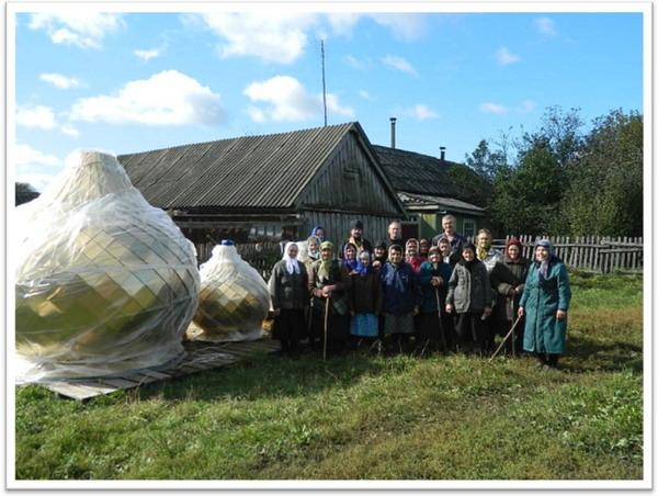 В село Папулево Ичалковского благочиния доставлены из г. Волгодонска  купола для храма