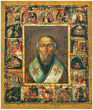 Прибытие чудотворной иконы  Святителя Николая