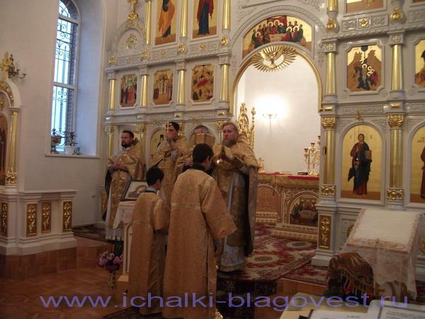 Торжества по случаю памяти  Святителя Димитрия Митрополита Ростовского