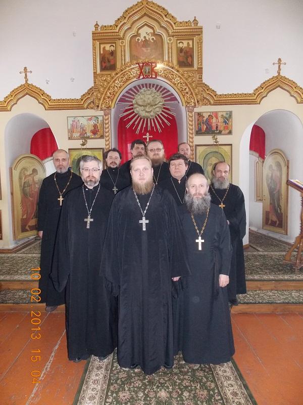 10 февраля  состоялось собрание священнослужителей Ичалковского благочиния