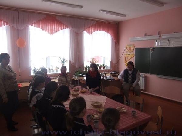 Встреча учащихся  с  членами молодежного клуба Свято-Федоровского кафедрального собора