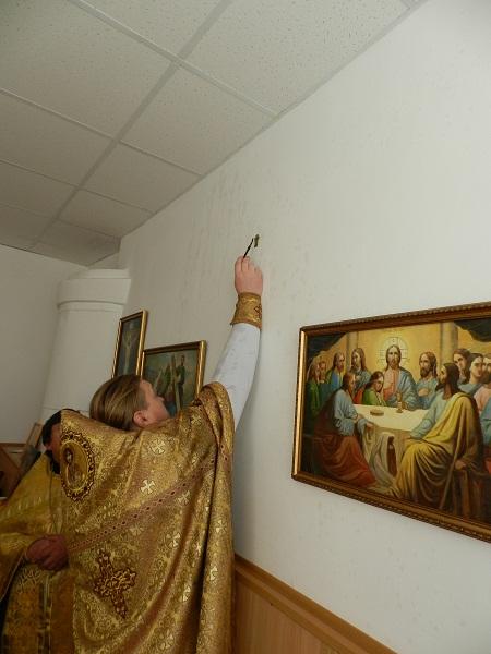 В поселке Калыши освящен храм в честь Святых Отцов  Шести Вселенских Соборов