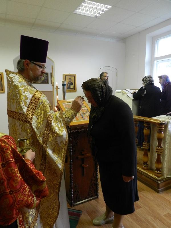 Освящен новый храм в честь Святых отцов шести Вселенских Соборов в Калышах
