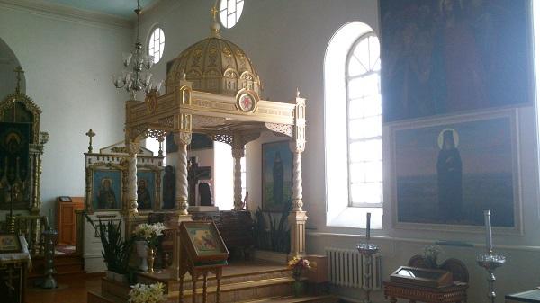 В Михайло-Архангельский храм вернулась икона преподобного Филарета Ичалковского