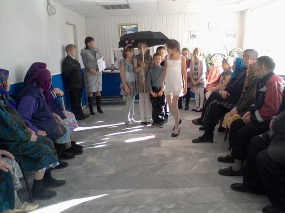 Ученики воскресной школы дом престарелых в с. Лада