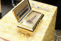 24 декабря храм Рождества Пресвятой Богородицы с. Кемля впервые посетят Вышенские святыни – чудотворный образ Божией Матери Казанской Вышенской и ковчег с мощами святителя Феофана, Затворника Вышенского