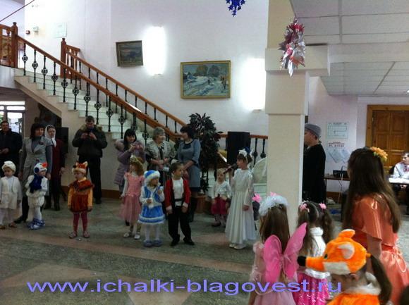 в доме культуры с. Кемля прошла Рождественская елка