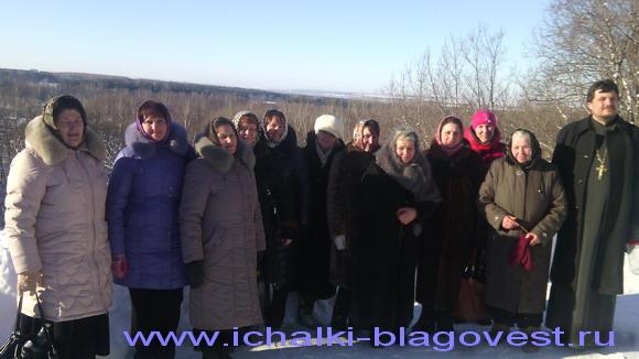 Паломническая поездка в Троице-Сканов монастырь