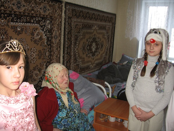 Дом престарелых в с. Лада