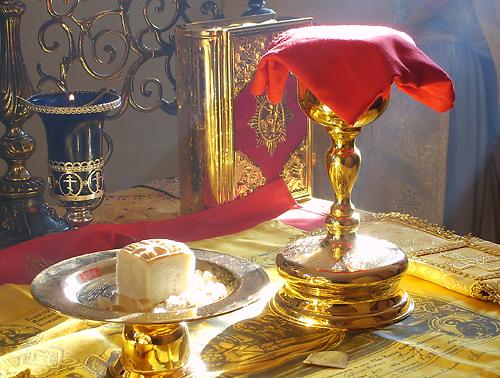 Божественная Литургия в храме села Новые Ичалки