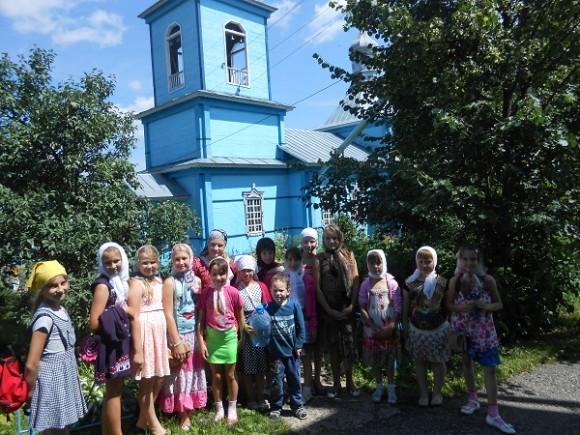 Ученики воскресной школы посетили  Куриловский Свято – Тихвинский женский монастырь и Свято – Троицкий Чуфаровский  монастырь