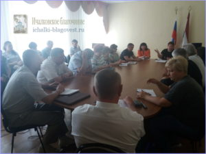 заседание общественного Совета Ичалковского благочиния