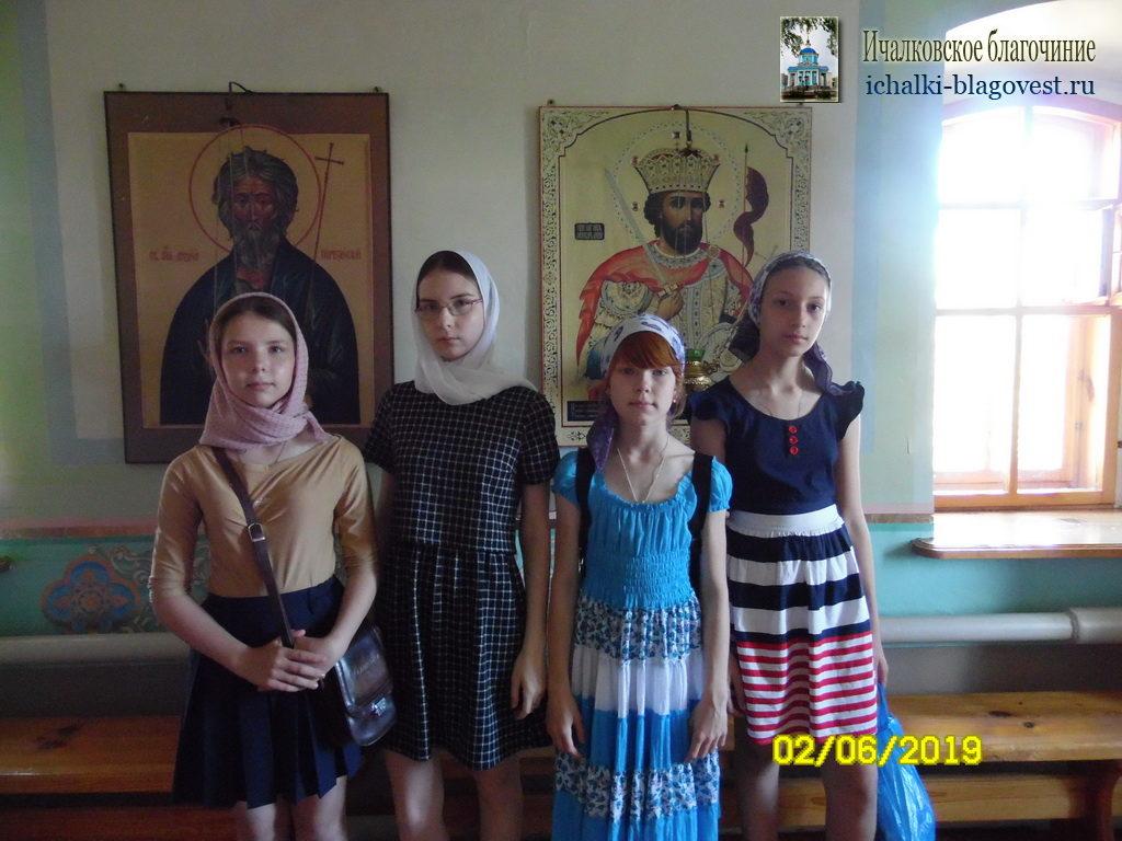 Поездка в Куриловский Тихвинский женский монастырь