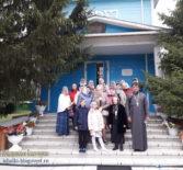 Благодатная Выша, о паломнической поездке прихожан Свято -Дмитриевского храма.