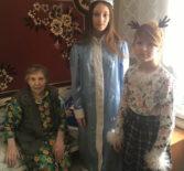 Воспитанники воскресной школы Рождество – Богородничного храма с. Кемля посетили дом престарелых в с.Лада.